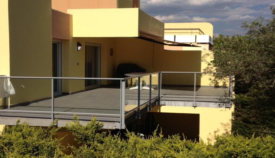 aluminium technal s same automatismes les maisons de verre ollioules. Black Bedroom Furniture Sets. Home Design Ideas